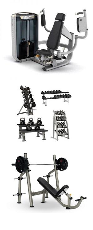 hyra gymutrustning